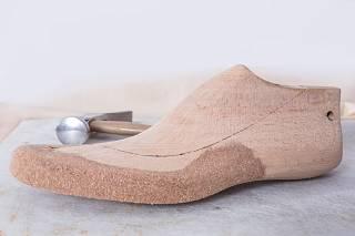 Leiste für orthopädische Schuhe